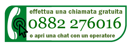 clicca e chiama gratis dauniashop o parla direttamente in chat con un nostro operatore